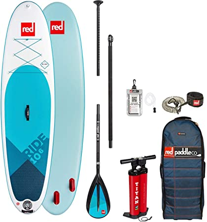 Red Paddle Co 2018 Ride 106 Inflatable Stand Up Paddle Board + ...
