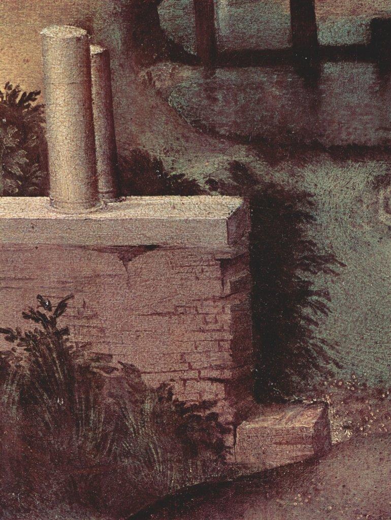 Lais Puzzle Giorgione - Das Gewitter, Detail 2000 Teile