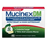 SCS Mucinex DM Expectorant & Cough Suppressant