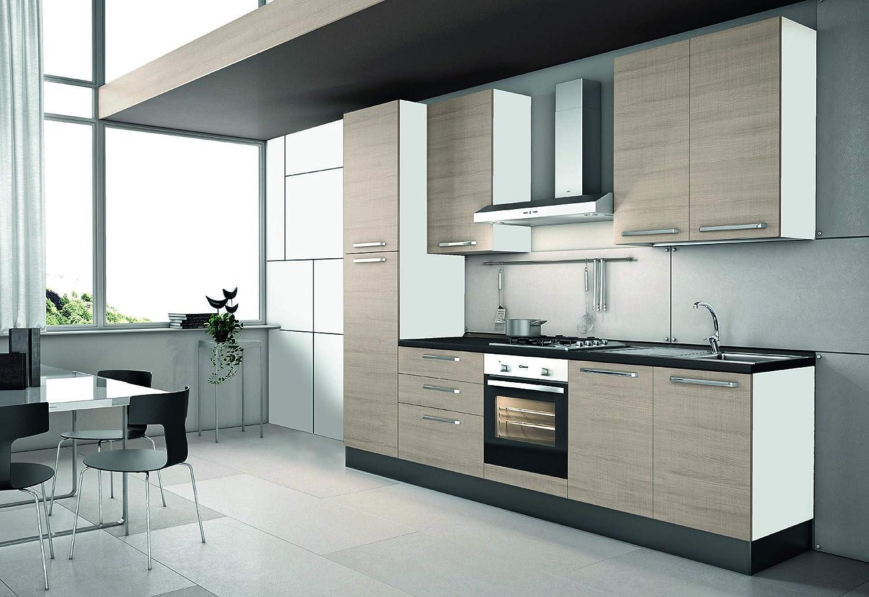 InHouse srls Cocina Part l.300 – p.60 – h.216.: Amazon.es: Hogar