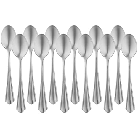 Coffee Spoons x 12 Cutlery Catering Tableware Stainless Steel  Restaurant Cafe
