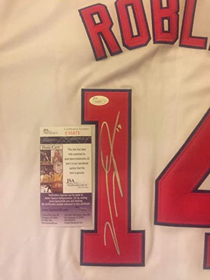 the latest 51d6e 41b76 Victor Robles Washington Nationals Autographed Signed ...