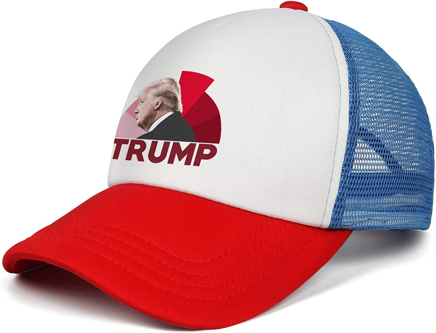 JDHASA Trump-2020-American-flag-face Baseball Caps for Men Summer Hats Dad Hats