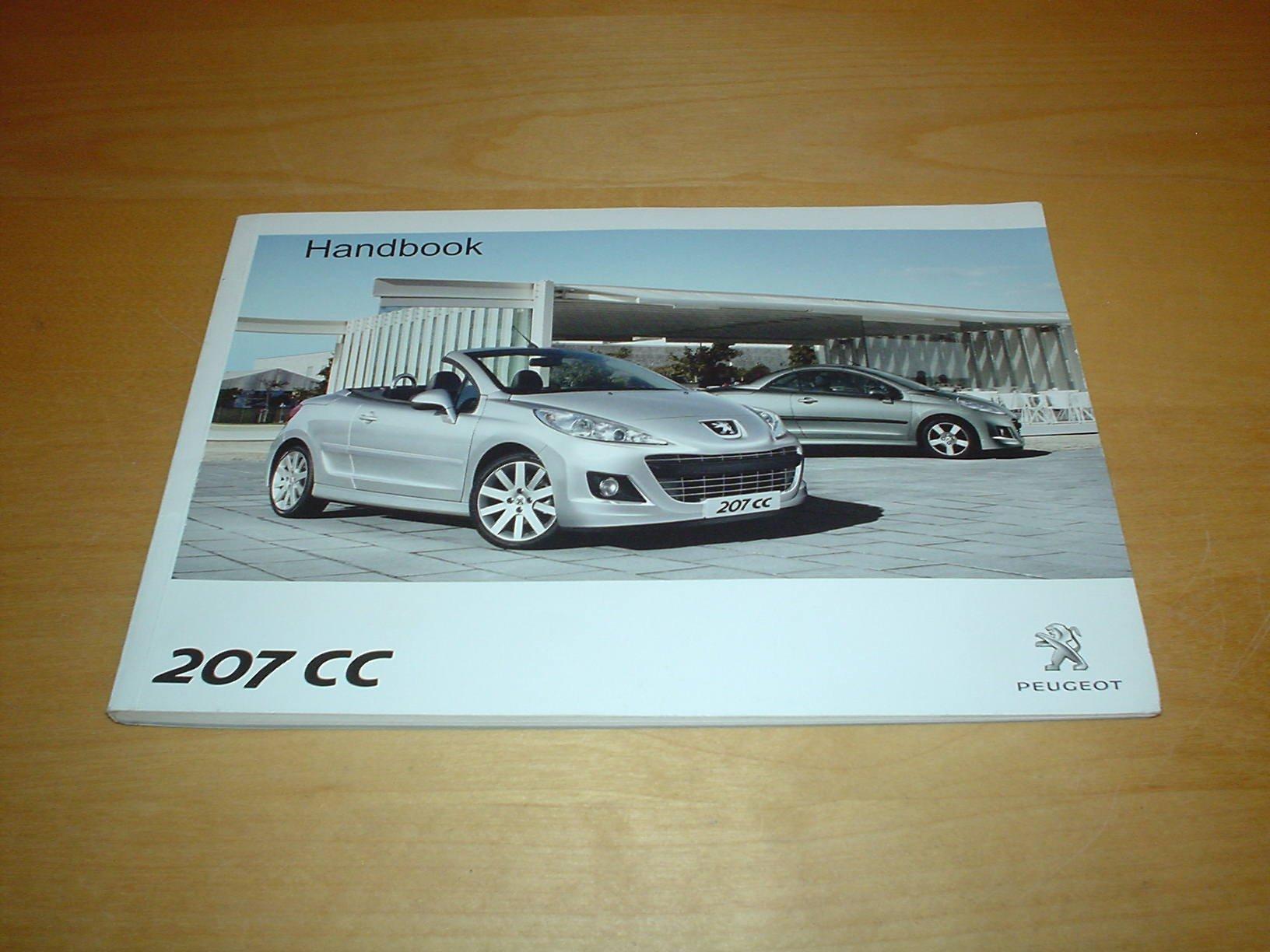 peugeot 207cc owners handbook c w wallet 207 cc 1 6 vti 1 6 thp rh amazon co uk Peugeot 407Sw Peugeot 207 CC Cabriolet