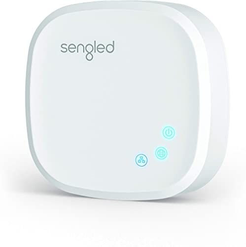 Sengled Smart Hub, For Use with Sengled Smart Products, Compatible with Alexa, Google Assistant and Apple HomeKit, New Version Renewed