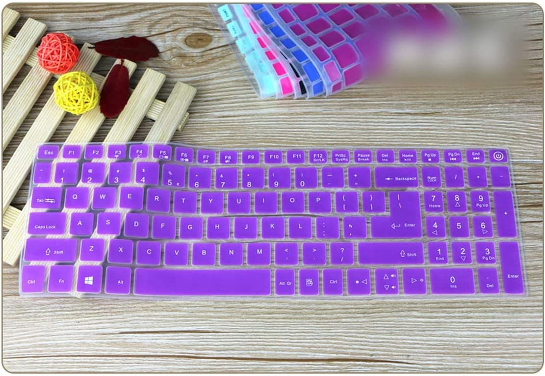 15.6 15 Inch Silicone Keyboard Protector Cover Skin for Acer Aspire 5 A515 A515 15 A515 15G E5 523G E5 576G E5 523G 575G 576G,Candyblack