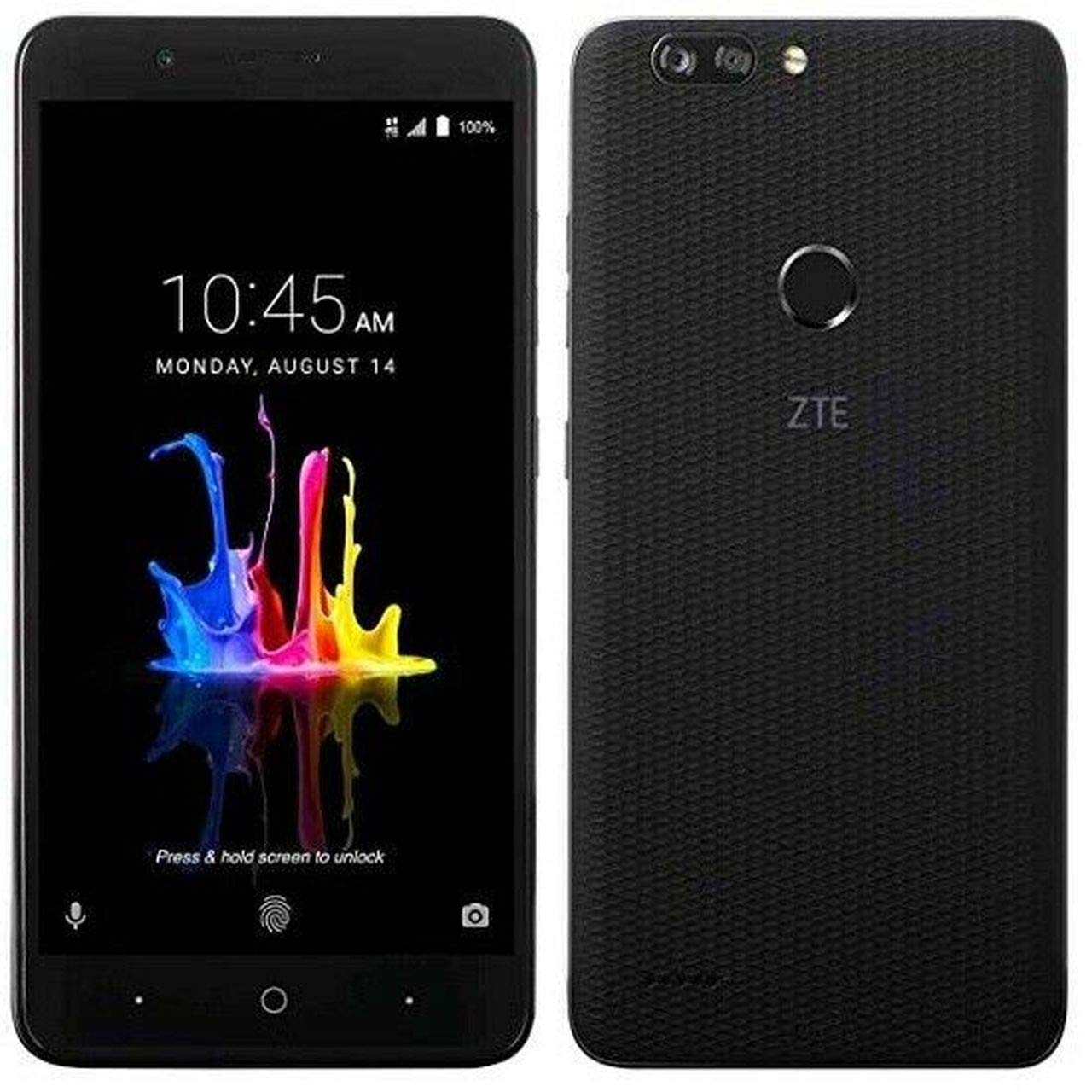 ZTE BLADE Z MAX Z982 (32GB, 2GB RAM) 6.0'' Full HD Display, Dual Rear Camera, 4080 mAh Battery, 4G LTE GSM Unlocked Smartphone w/ US Warranty (Black) by ZTE