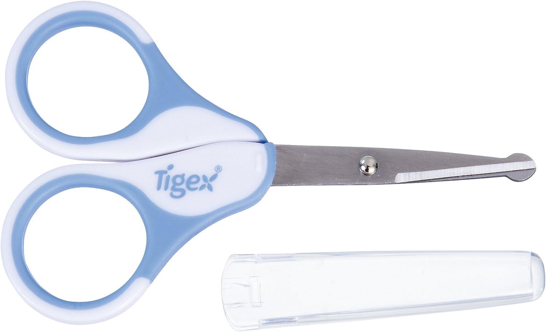 Tigex 84000017 color azul Set con tijeras y estuche