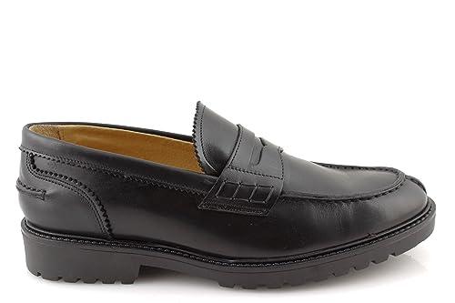 damalu Mocasines College hombre zapatos de tipo Mocasín College auténtica piel italianas: Amazon.es: Zapatos y complementos