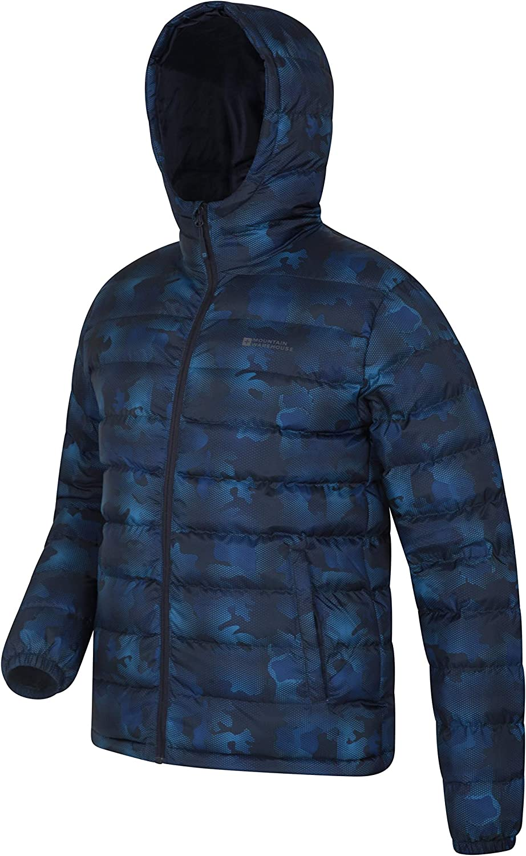 Water Resistant Padded Coat Mountain Warehouse Seasons Mens Winter Puffer Jacket