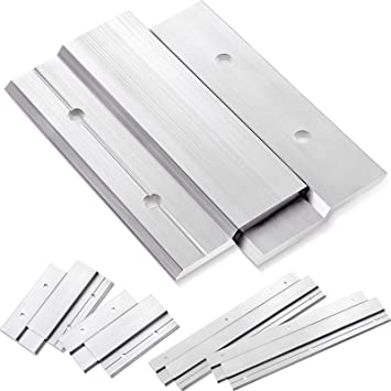 10 Pieces French Cleat Hanger Aluminum Z Picture Hanger Clips, Z Bar Hanger for Mirror Hanging, Picture and Panel Hanger with Anchor and Screws
