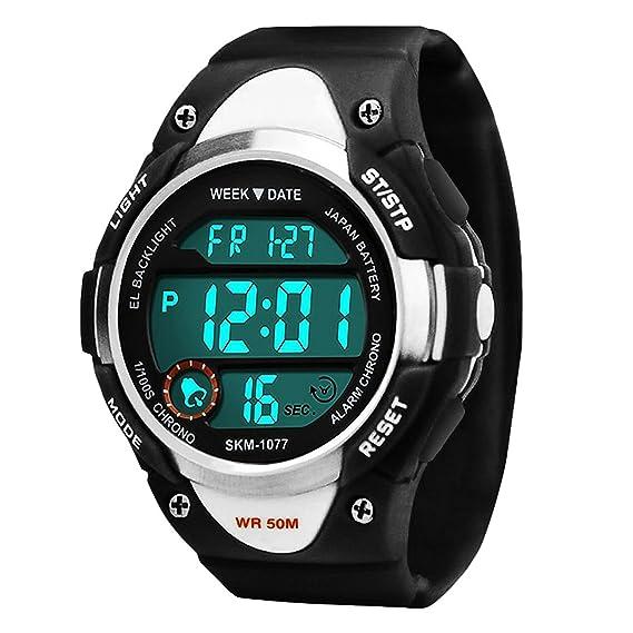 Niños Deportes Relojes digitales para niños 81176f7dbc47