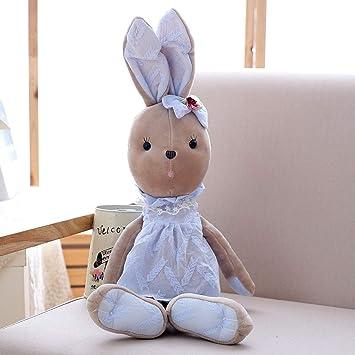 Amazon.com: JEWH Bonita muñeca de conejo de felpa – Juguetes ...