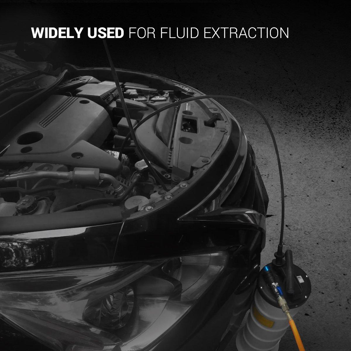 EWK Pneumatic / Manual 15 Liter Oil Changer Vacuum Fluid Extractor Pump Tank Remover by EWK (Image #4)