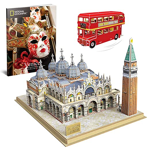 CubicFun 3D Puzzle National Geographic Italy Venice St. Mark