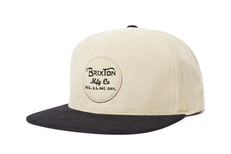 Brixton Headwear Wheeler Snapback - Gorra Unisex, Unisex Adulto ...