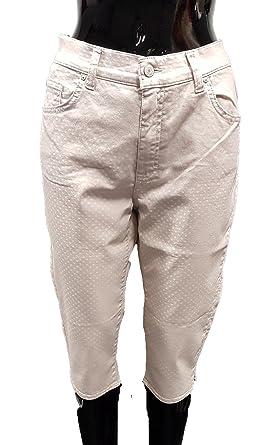 3ef8cf0b4a66 Angels Jeans Capri-Hose, Leichte Ware (46 EU)  Amazon.de  Bekleidung