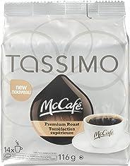 Tassimo McCafé Premium Roast Coffee Single Serve T-Discs, 14 T-Discs (Packaging may vary)
