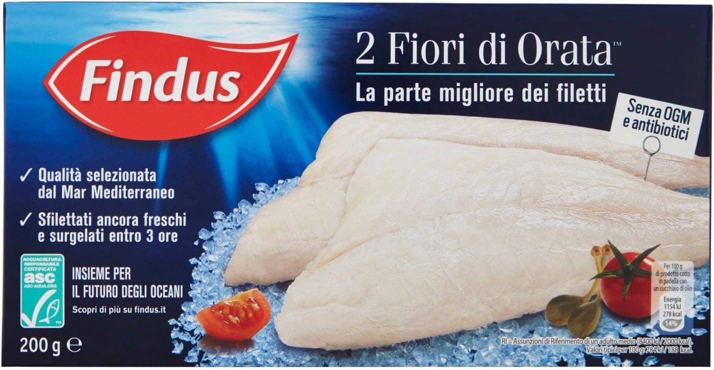 Findus 2 Fiori Di Orata 200g Surgelato Amazon It Alimentari E Cura Della Casa