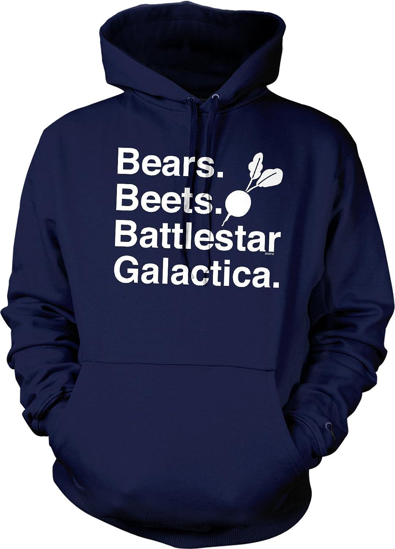 Amazoncom Nofo Clothing Co Bears Beets Battlestar Galactica Hooded