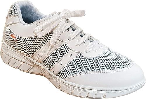 Dian Mil/án-scl talla 36 Zapato de trabajo unisex-adulto color blanco