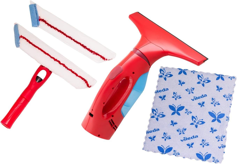 Vileda VR-1079 Windomatic RedSet - Set de limpieza de ventanas: Amazon.es: Bricolaje y herramientas