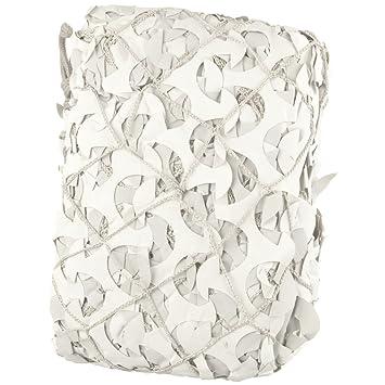 Filet camouflage avec renfort cordage Pro 3 m x 6 m blanc PERGOLA ...