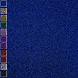 "10 Sheets of 350 gsm Smooth-Cut 12""x12"" Blue Glitter Paper, Soft Touch Card Stock for Scrapbooking, Invitations, Wedding Cards, Cake Toppers And More DIY projects"