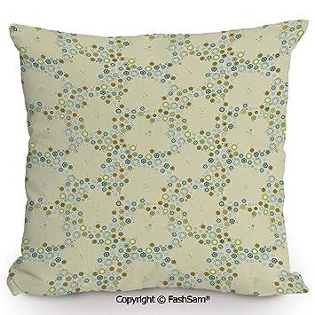 Amazon.com: FashSam Home - Cojín para sofá o cama, diseño de ...