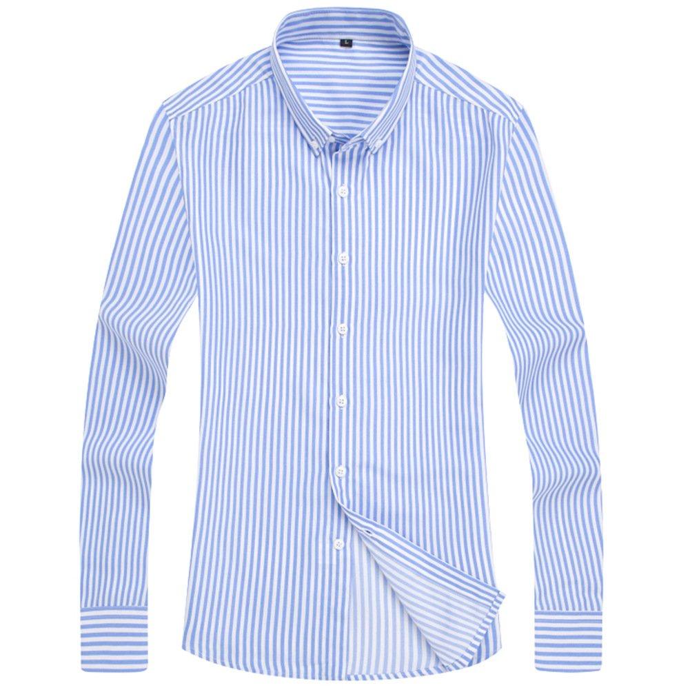 Heiki(ヘイキ)のおすすめワイシャツはストライプボタンダウン