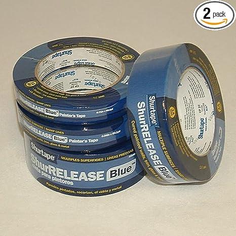 Amazon.com: Shurtape CP-27 14-day Azul Cinta Pintores (60 ...