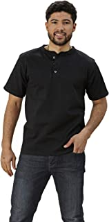 product image for Adult Short Sleeve Henley Classic Fit