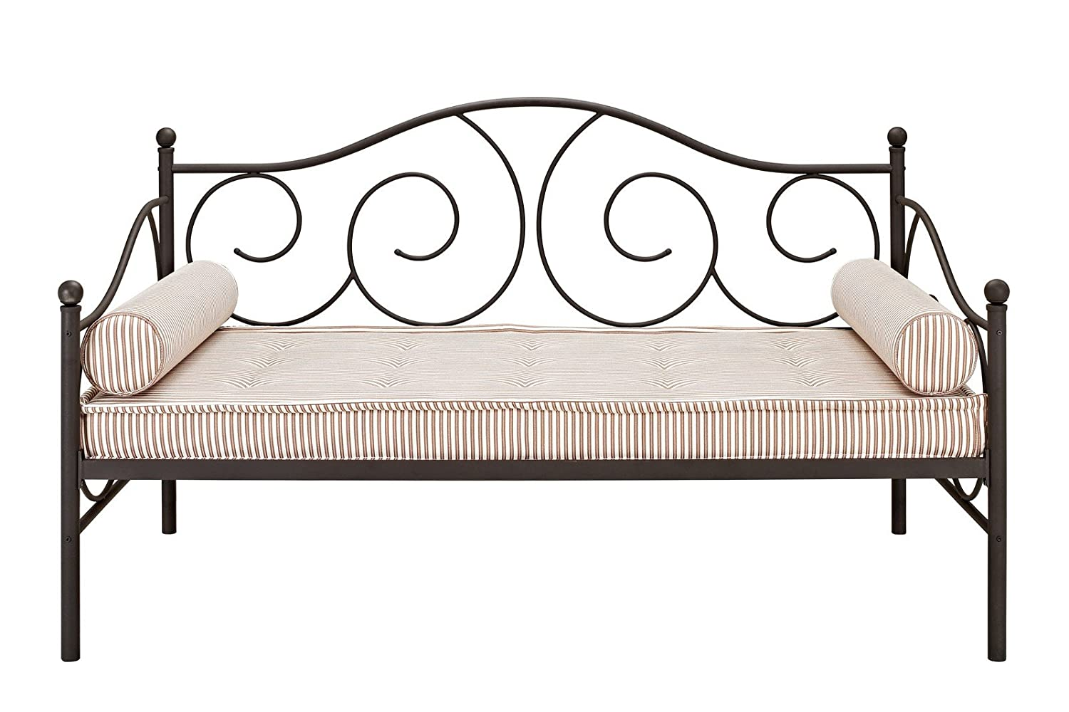Superior Amazon.com: DHP Victoria Daybed Metal Frame, Multifunctional, Includes Metal  Slats, Twin Size, Bronze: Kitchen U0026 Dining