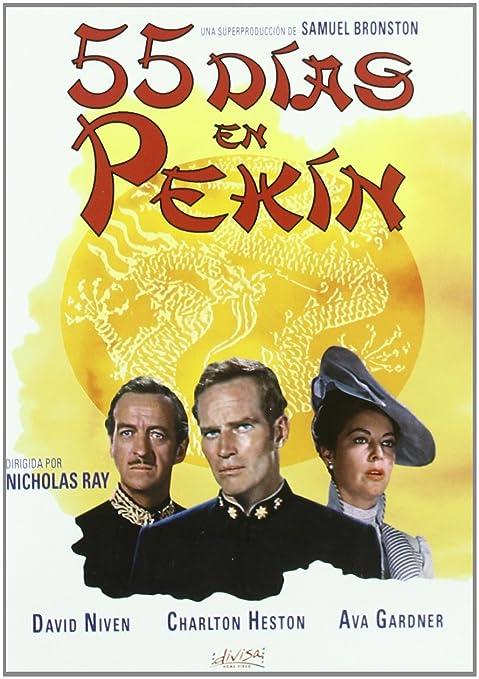 55 Días en Pekín [DVD]: Amazon.es: Ava Gardner, Flora Robson, Charlton Heston, David Niven, Nicholas Ray, Ava Gardner, Flora Robson: Cine y Series TV