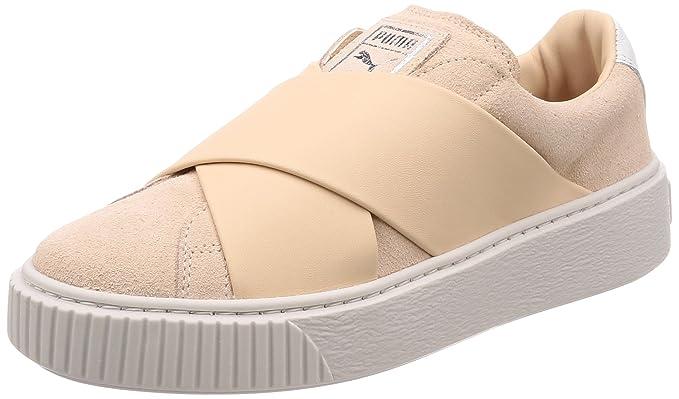 2e74f7b2 Amazon.com: Puma Platform X Womens Sneakers Nude: Clothing