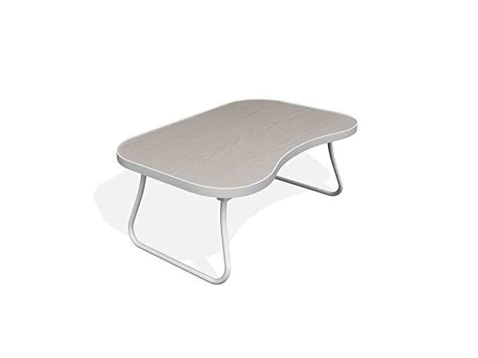 Forzza Zoey Laptop Table (White)-Best-Popular-Product
