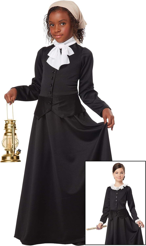 Women/'s Suffrage Harriet Tubman Susan B Anthony Historical Costume Child Girls