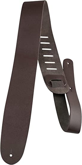 Perris Leather Ltd PL25BR - Correa para guitarra de cuero, 6,35 cm,