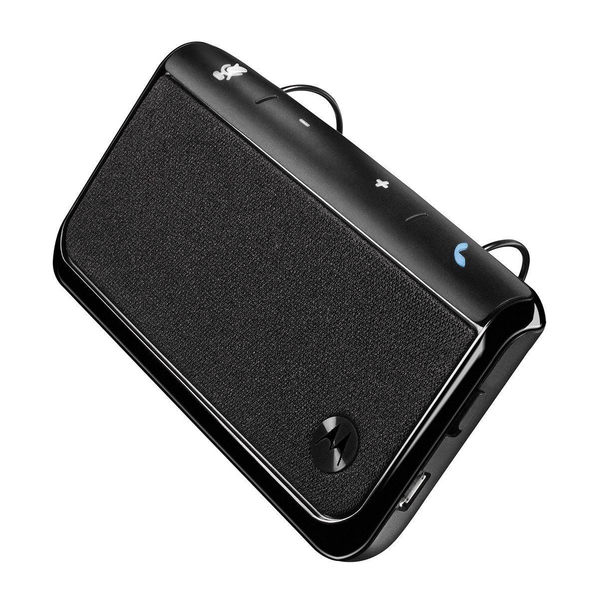 Motorola TX500 Universal Bluetooth In-Car Speakerphone CarKit (Renewed)