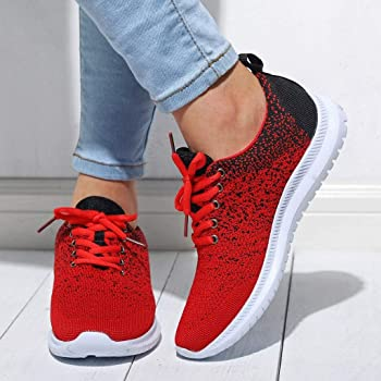 Luckycat Zapatillas de Deportivos de Running para Mujer Gimnasia ...