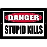 Rogue River Tactical Funny Sarcastic Metal Tin Sign Wall Decor Man Cave Bar Redneck Trailer Park