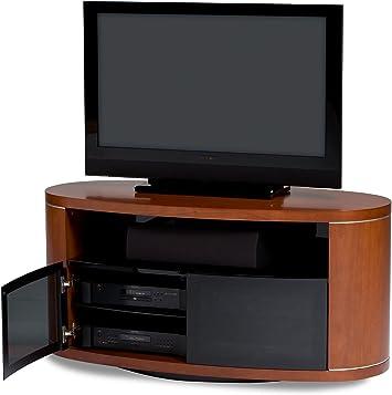 BDI Revo 9981 AV – Mueble para TV Giratorio Integrado con Natural Stained Cherry: Amazon.es: Electrónica