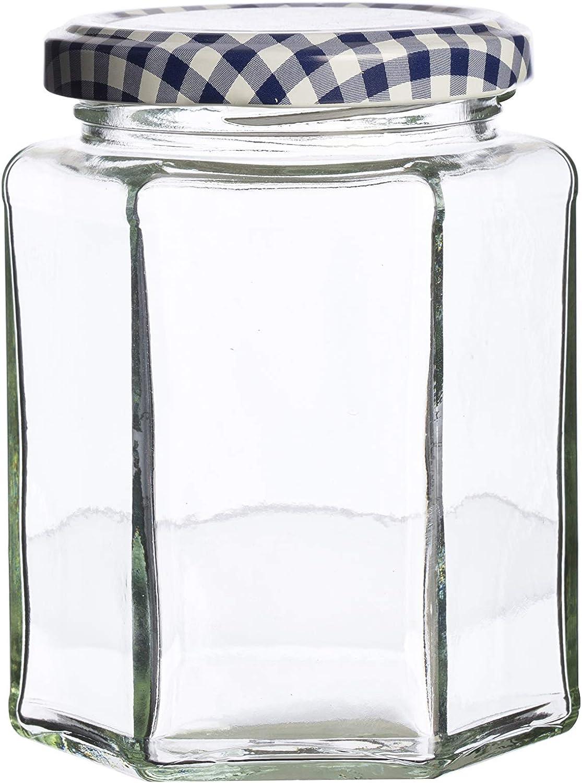 Kilner Hexagonal Twist Top Jar, 9.5-Fl Oz