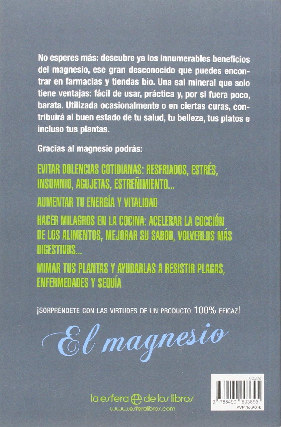 El magnesio astuto: Alix Lefief-Delcourt: 9788490603895: Amazon.com: Books