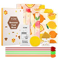 Deals on X-Chef Reusable Beeswax Food Wrap