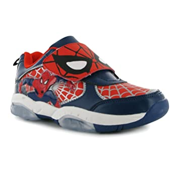 the best attitude 4ee24 b46bb Marvel Spiderman Light Up Trainer Kinder Navy Sneakers ...