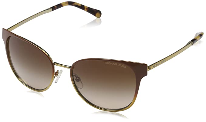 bfac6b2df569a Amazon.com  Sunglasses Michael Kors MK 1022 118213 BROWN GRADIENT ...