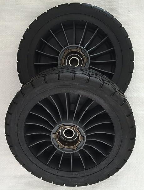 Honda hrc216 comercial cortacésped trasera rueda de disco ...