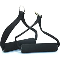 1 Pair Gym Resistance Band Handles for Bowflex Heavy Duty Cable Machine Attachment with ABS Core Fitness Exercise Training