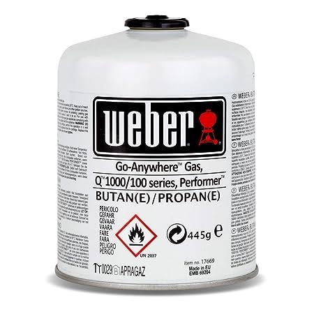 Juego de bombonas de gas 26100 para la serie Q 100 de Weber y ...